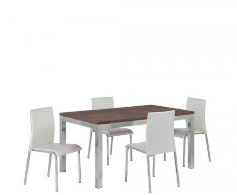 Holland Modern Dining Table And Chairs 7 Day Express Uk Delivery Wooden Dining Tables Dining Table Modern Dining Table