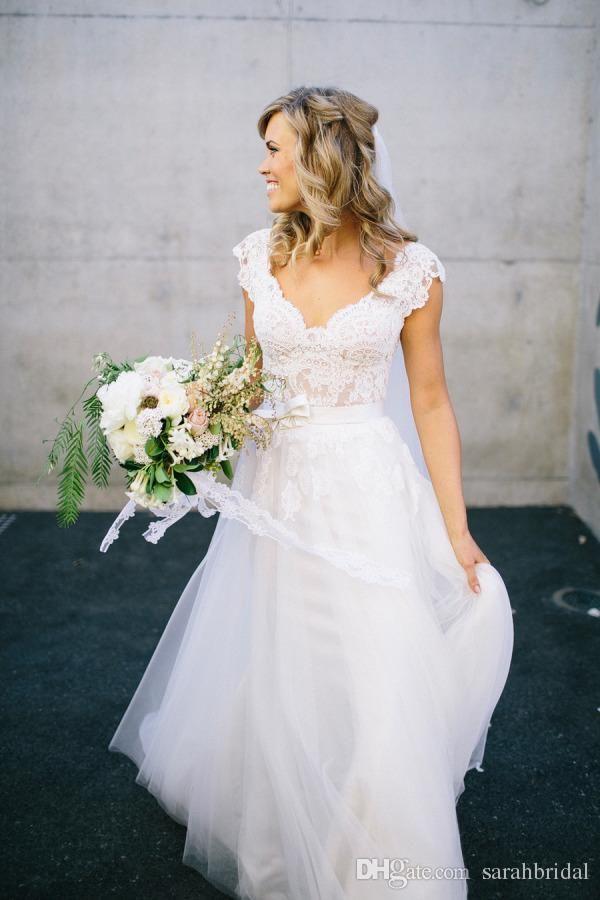 Cheap Bohemian Hippie Style Wedding Dresses For Uk Sale 2015 Design ...