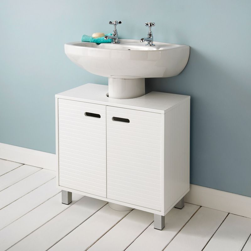 Polar Undersink Cabinet Bathroom Vanity Small Bathroom Storage Bathroom Storage Cabinet