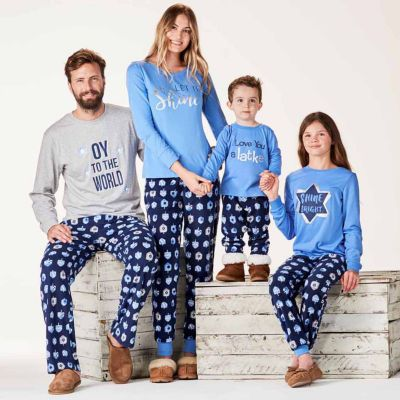 8217f9e609 HAMJAMS Hanukkah Family Pajama Set- Men s