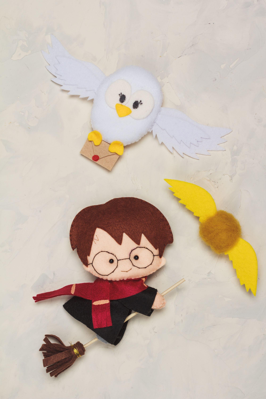 Harry christmas ornaments felt personalized ornament magic