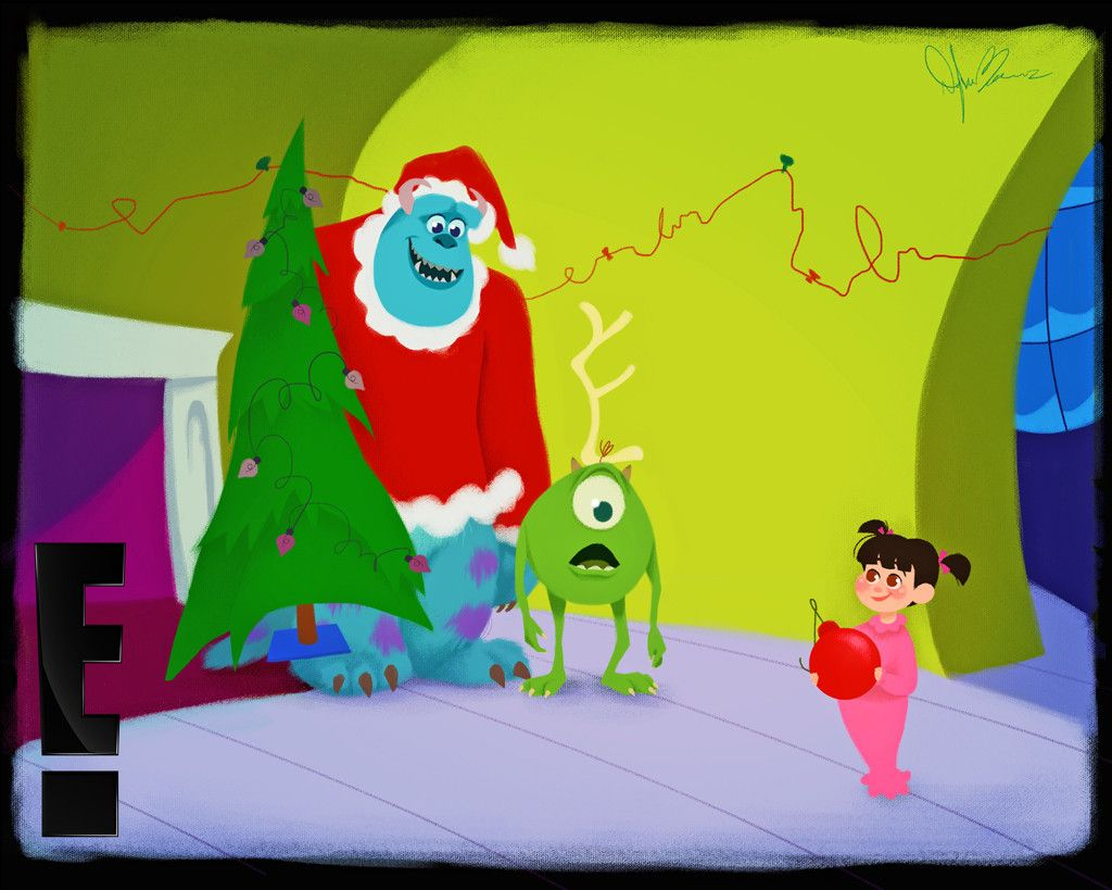 Mike, Sully & Boo