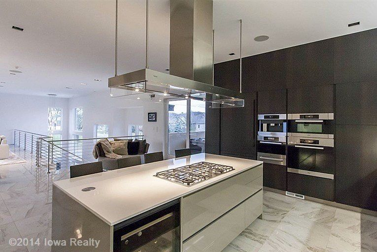 Poliform Varenna Kitchen  Miele Appliances  Luxe Living Project Custom Miele Kitchens Design Inspiration