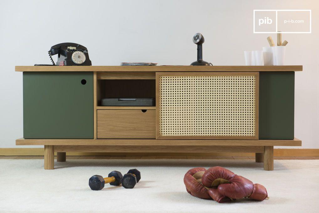 Credenza Per Tv : Credenza tammea in legno di quercia sideboard