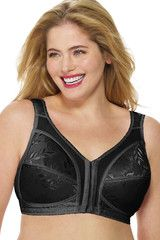 e523540e66 Playtex 18 Hour Easier On Front Close Wirefree Bra with Flex Back 4695