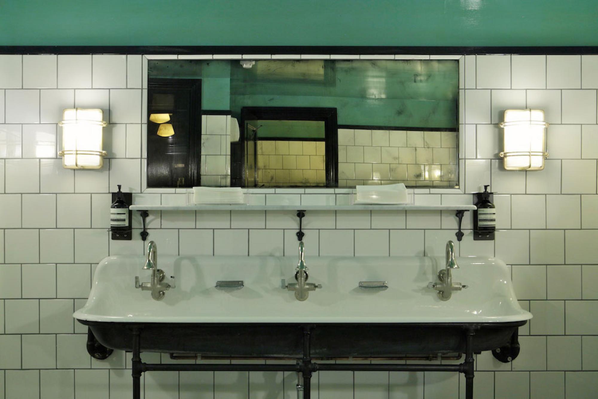 Jackson & Rye   Бар театр   Pinterest   Jackson, Restaurant bathroom ...
