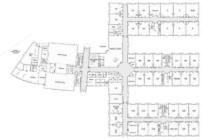 elementary school building design plans Click on a small image