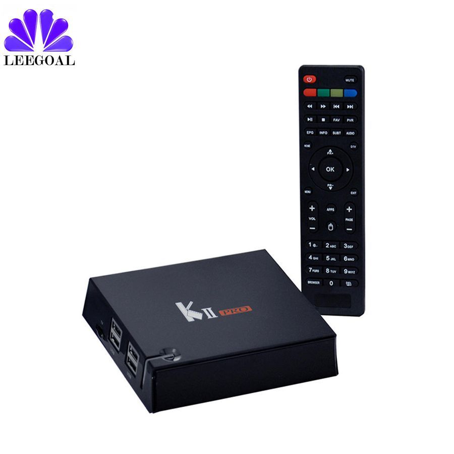 KII Pro TV Box Android 5 1 S2 T2 Dvb kii pro cccam Smart TV Box 2GB