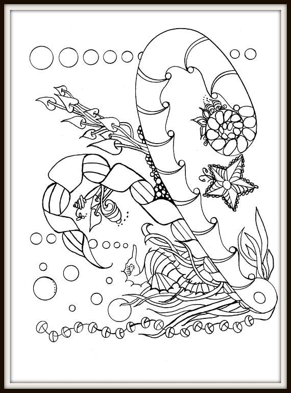 Adult Coloring Therapy / Notebook/Journal Volume 1 / Zentangle ...