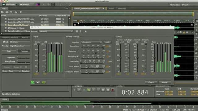 Adobe Audition CS6 Mixing Tutorial ~ Pro Sound And Vocal