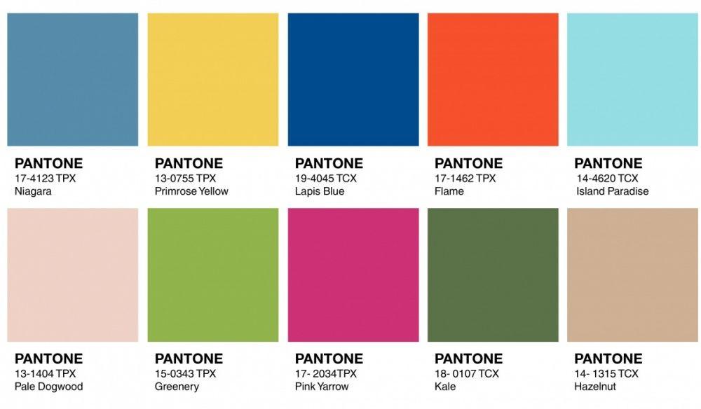 Pantone Colores Verano   Linings Forros Strobel  Colores