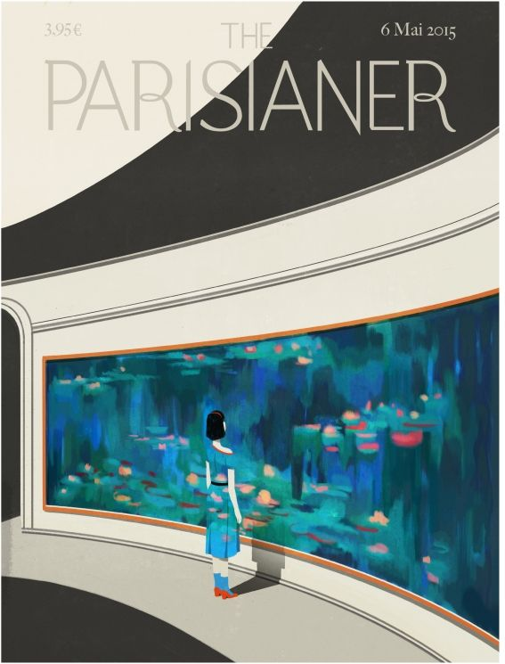 magazine Cover for the Parisianer project