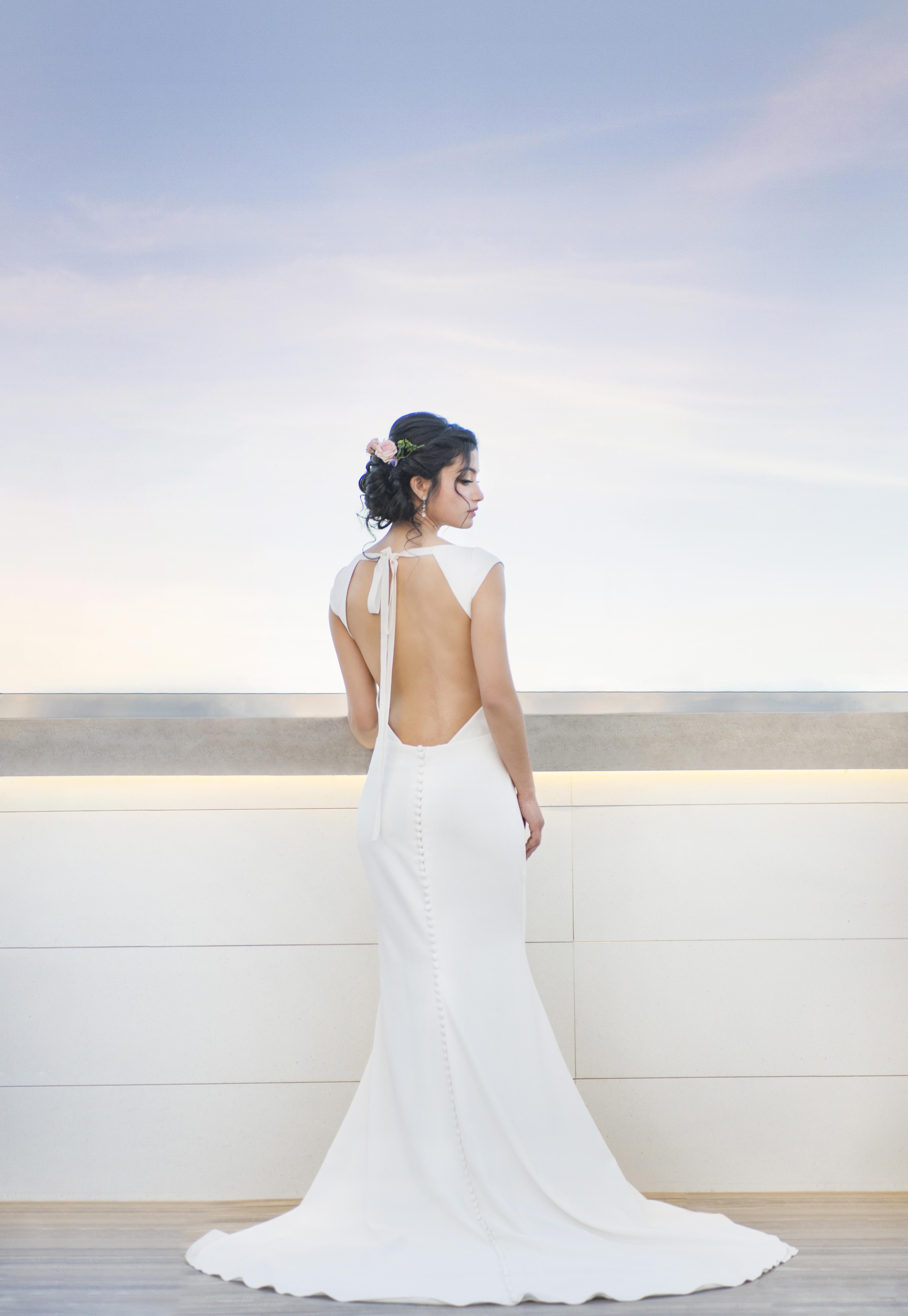 Blue Willow By Anne Barge Wedding Gown Cara Gown Open Back