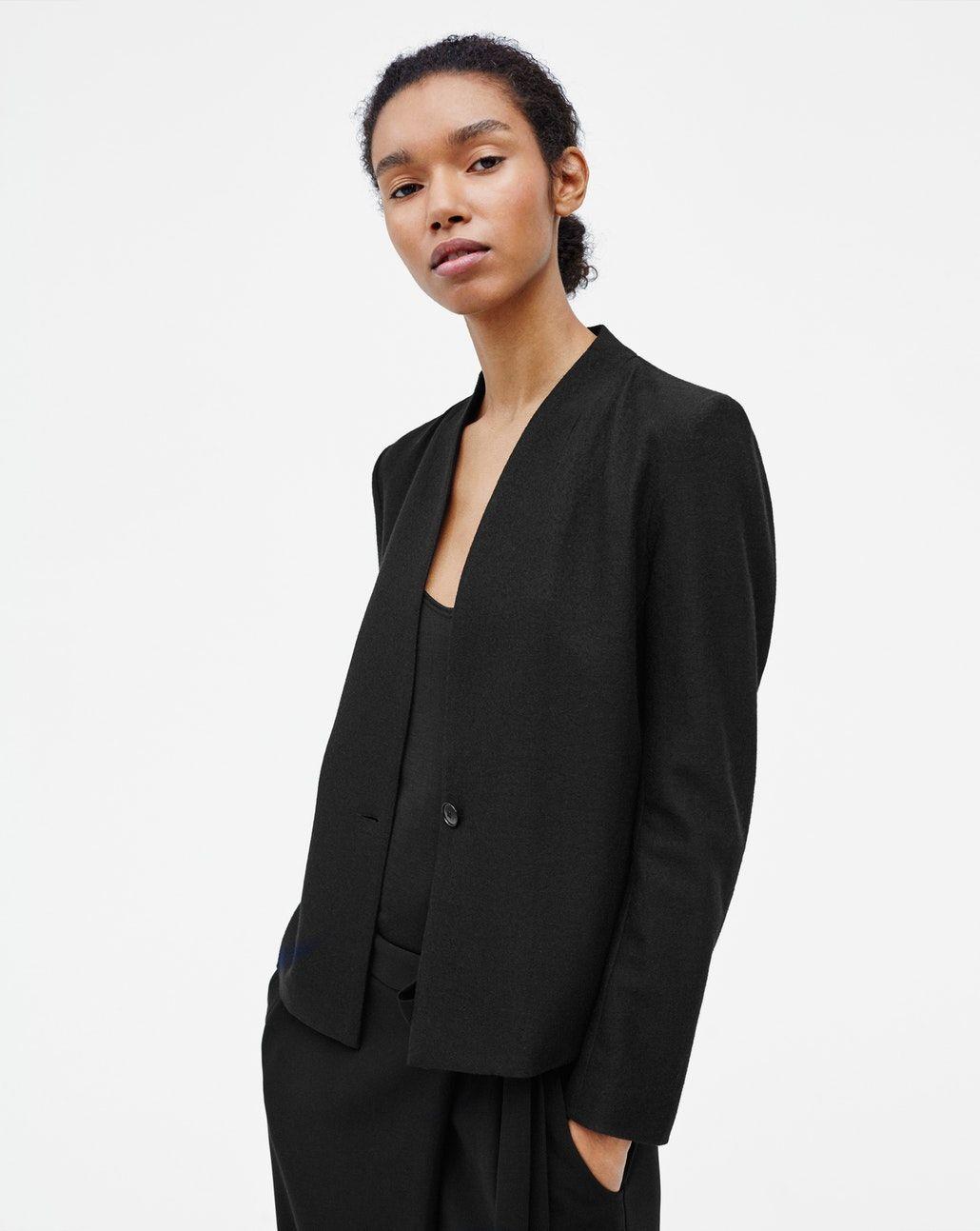 filippa k wool jersey jacket