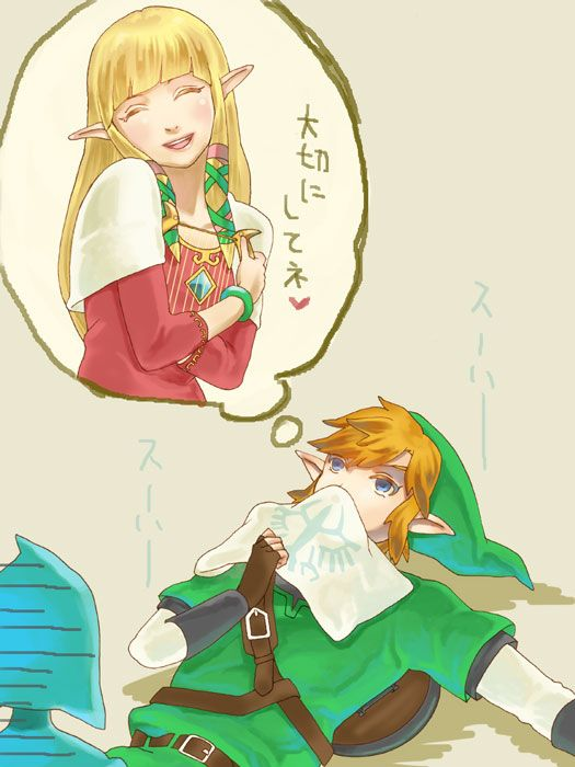 Thinking about Zelda... | but lol look at Fi