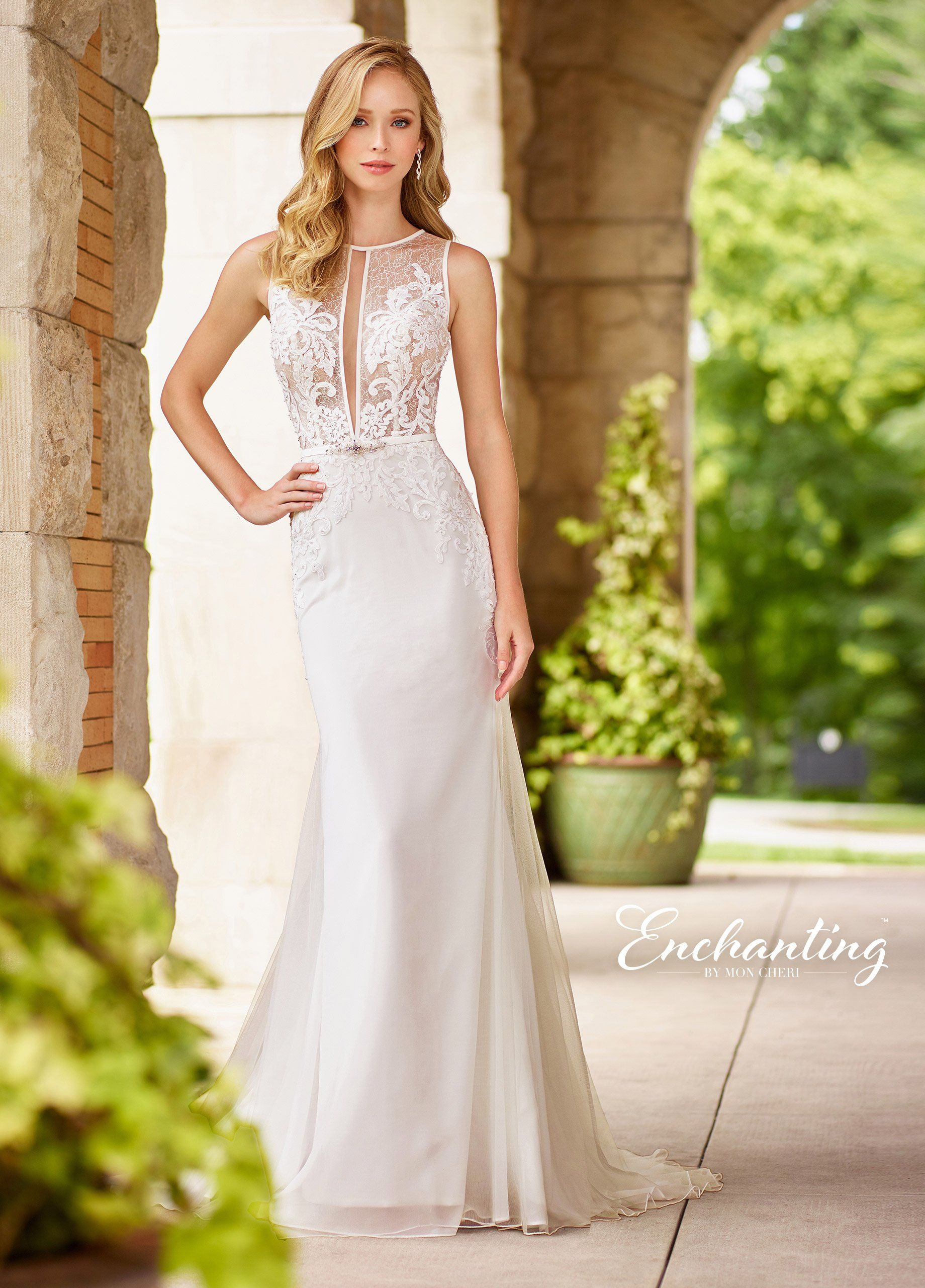 Enchanting by mon cheri wedding dresses pinterest