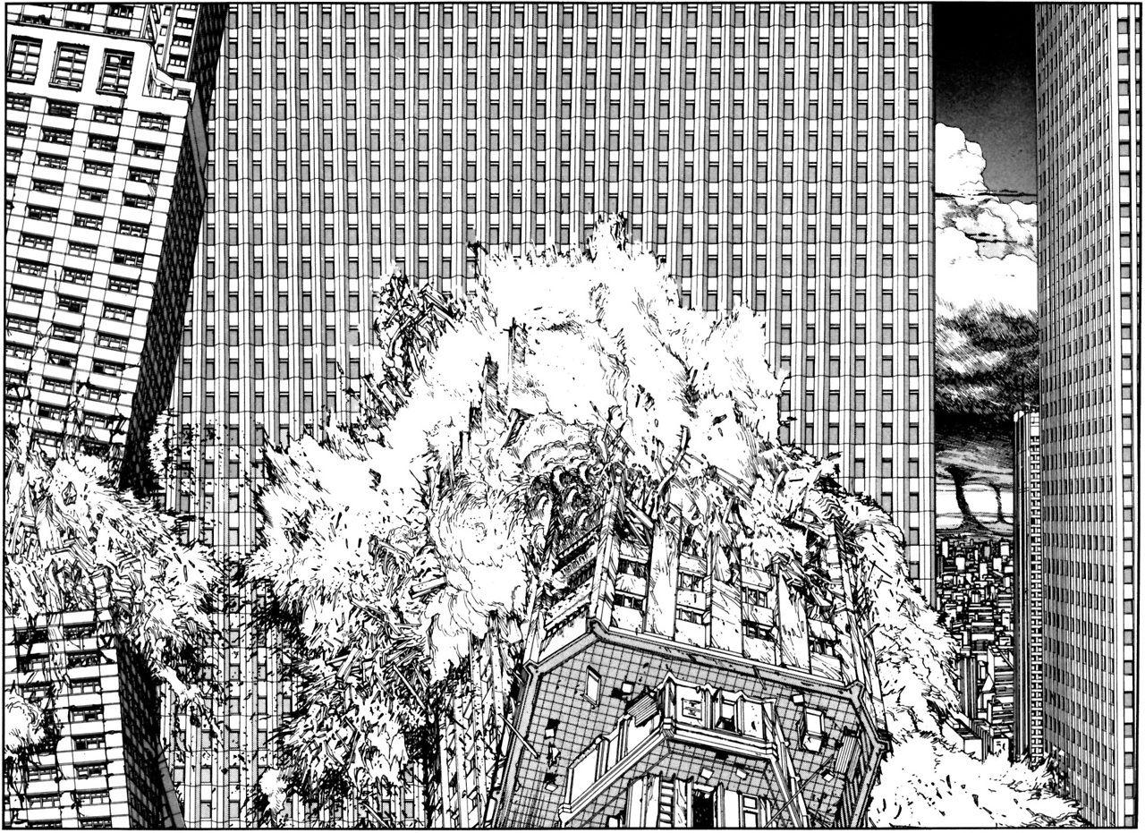 Destruction Of Neo Tokyo Ce 2019 Katsuhiro Otomo Akira Manga Katsuhiro Otomo Akira