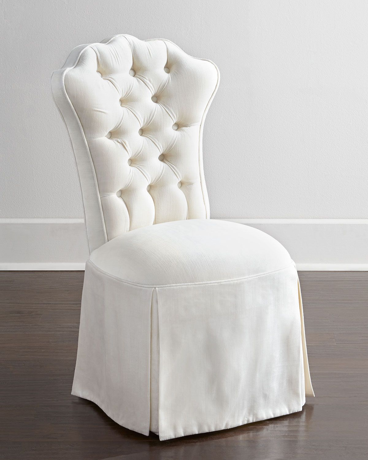 Tufted Vanity Chair Haute House Allison Tufted Vanity Chair Brilliant Basics Ivory