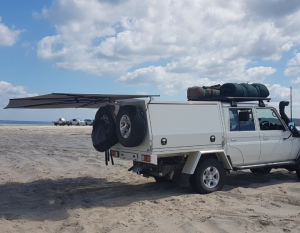 Clevershade 4wd Vehicle Awning With Images Awning 4wd Camping