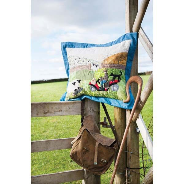 Create a fun pillow inspired by farm life | InterweaveStore.com