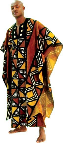 Grand BouBou Mudcloth Styles Of The African Man