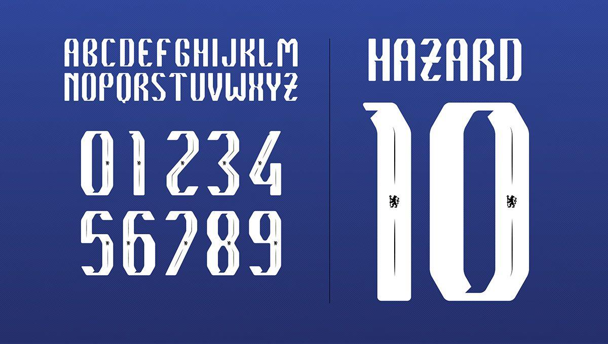 f900f3a53e Chelsea F.C. Font Proposal on Behance