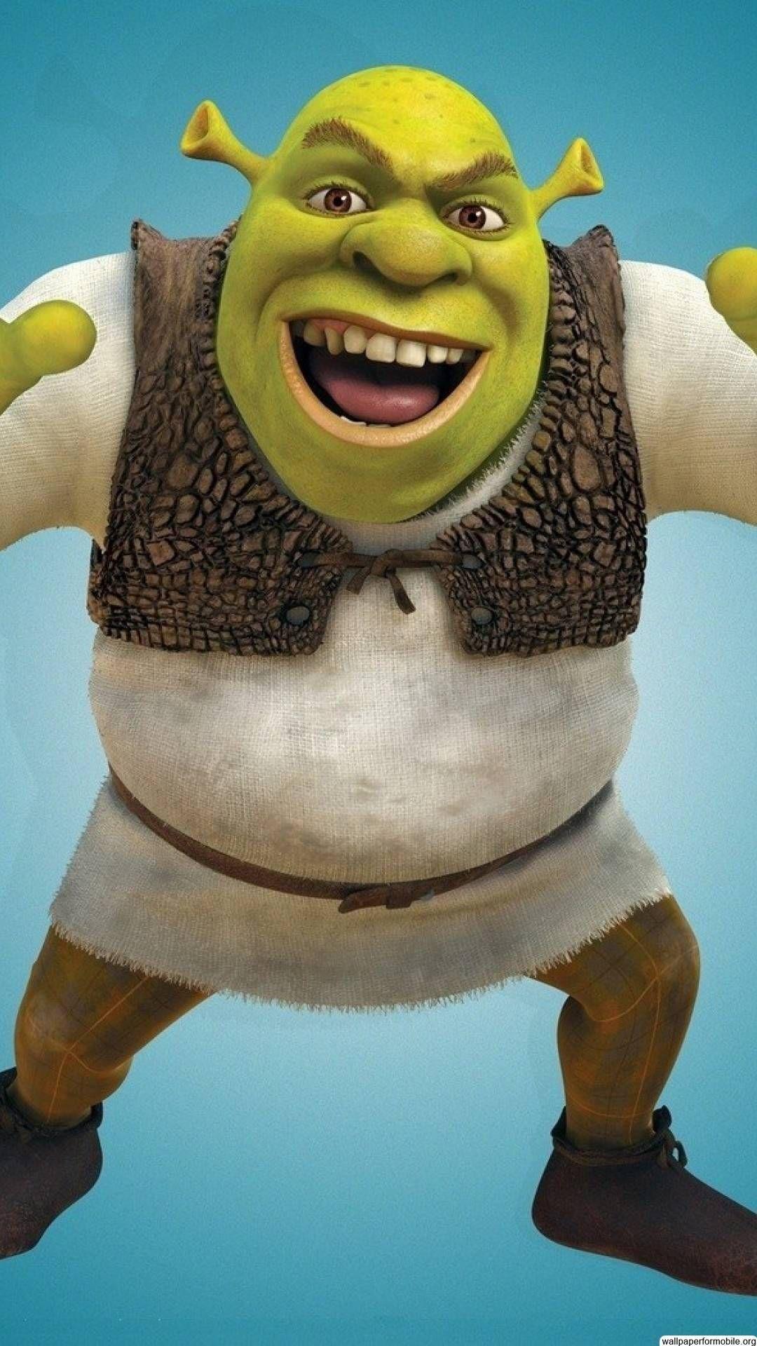 Free Shrek Wallpaper Mobile Wallpapers Personagens de