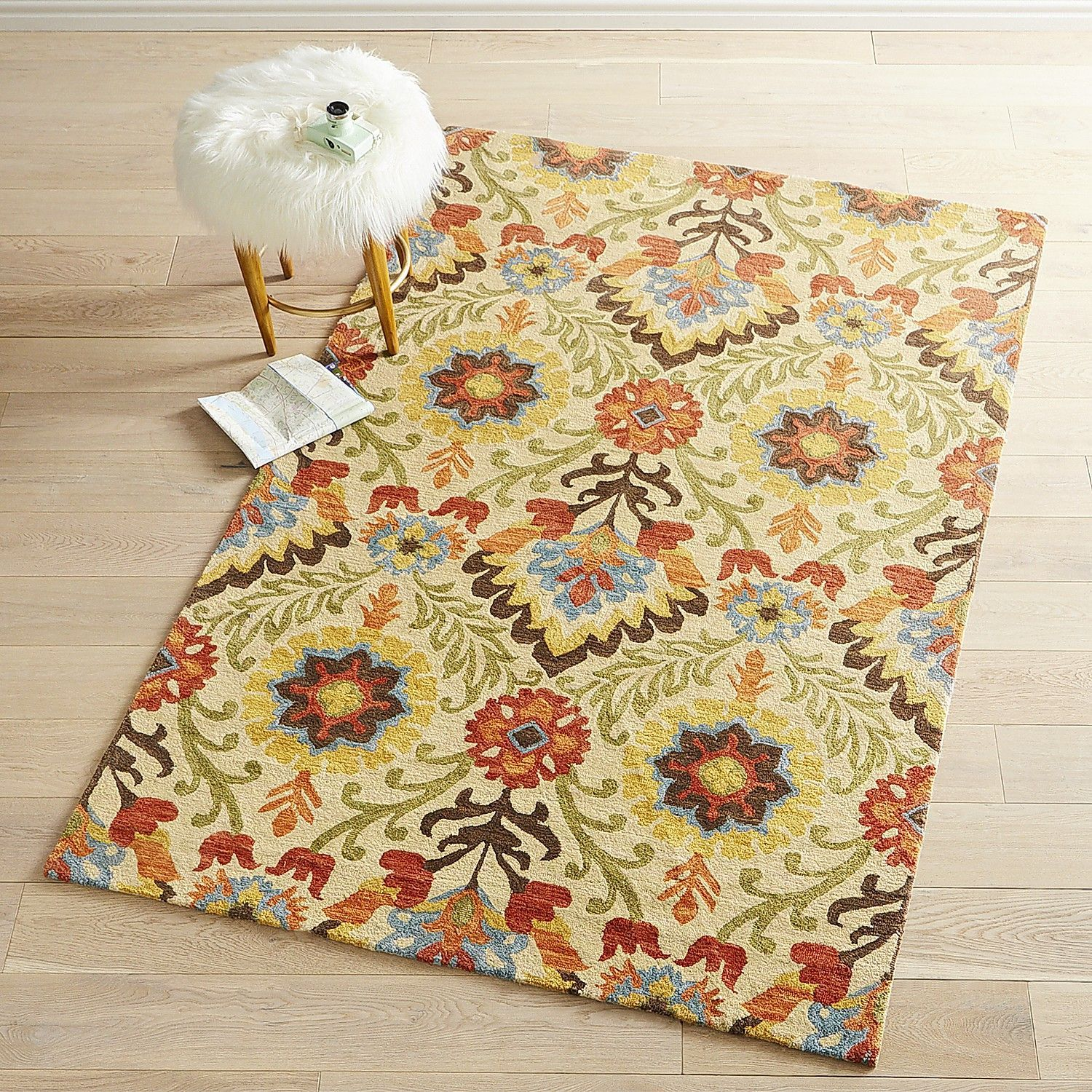 pier 1 living room rugs%0A Suzani Spice  x   Rug