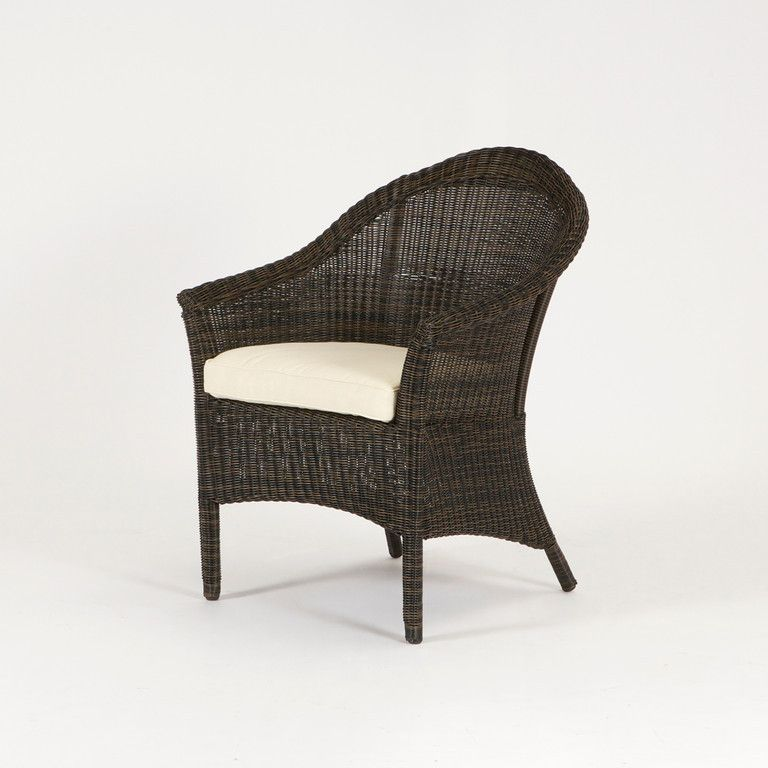 Calais Arm Chair Dark Expresso Round Parker James Outdoor Living  www.parkerjameshome.com - Calais Arm Chair Dark Expresso Round Parker James Outdoor Living Www