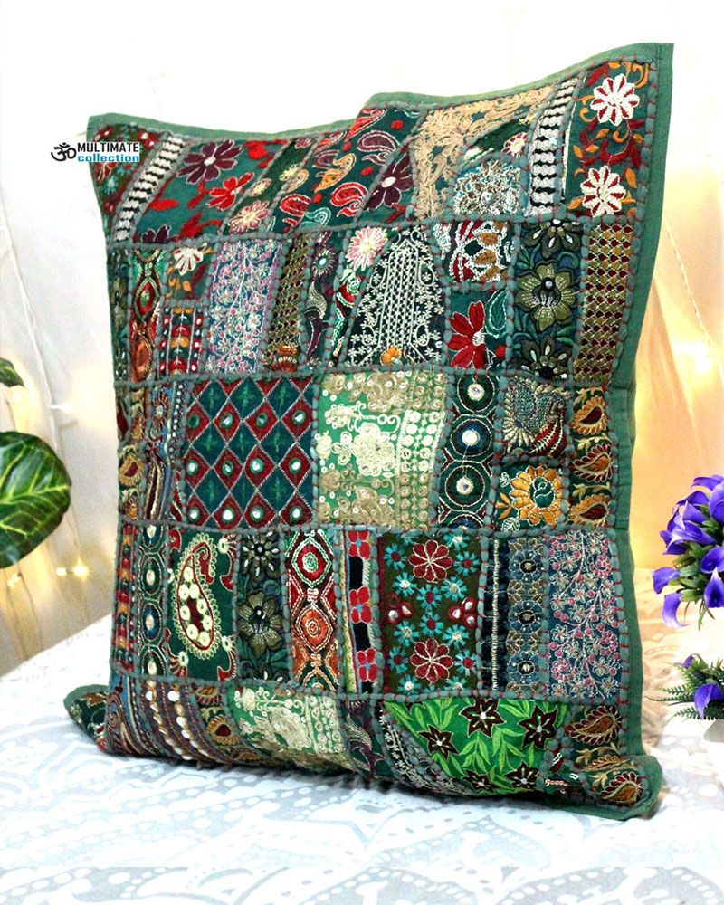 Beautiful Indian Pillow Case Embroidered Cushion Covers Pillows Online Cushions