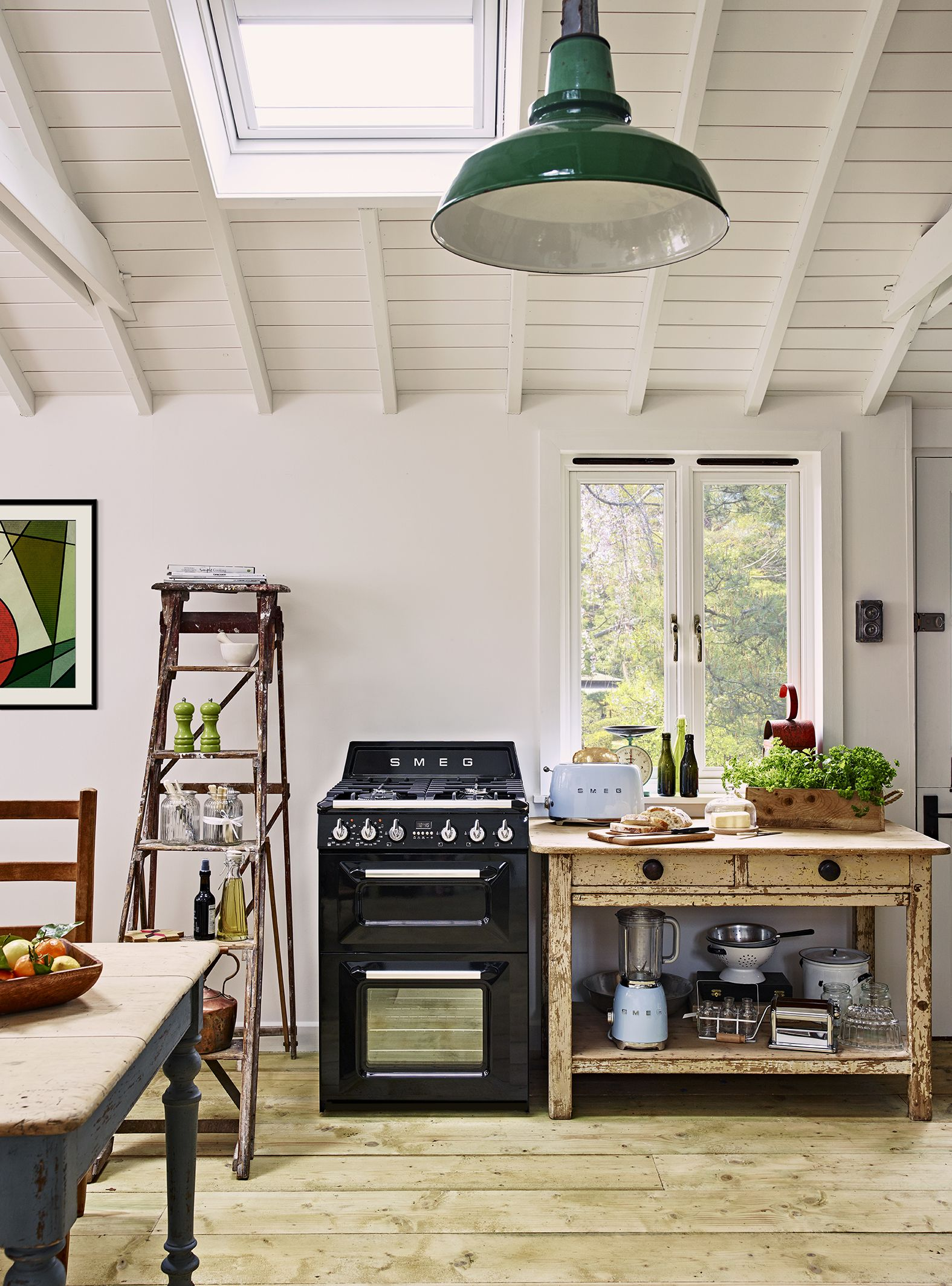 Smeg Black 60 Cm Victoria Cooker Kitchen Smeg Kitchen