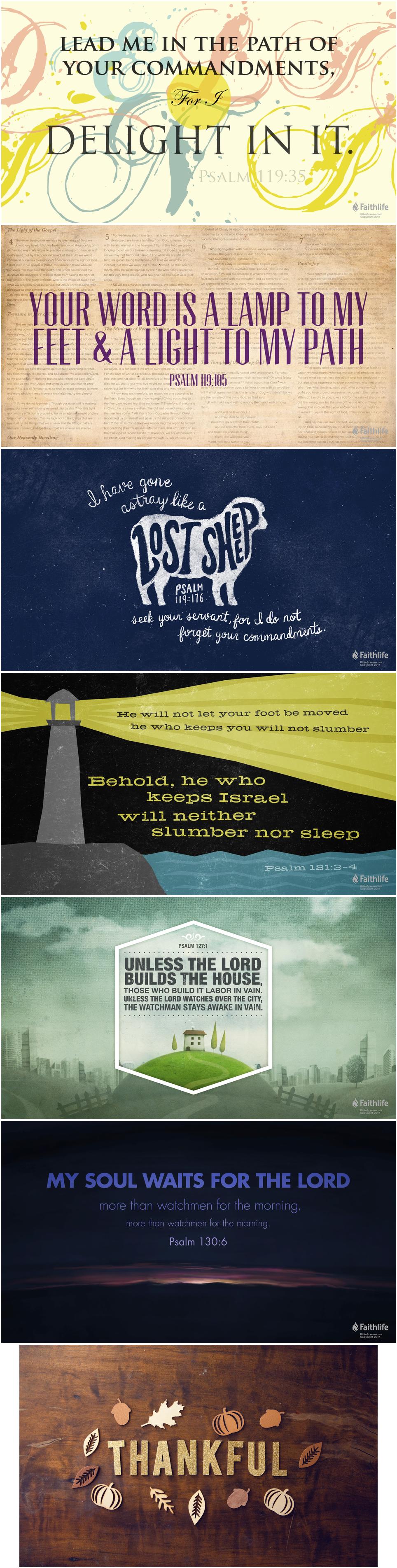 Thankful - Inspirational Christian   Bible Verse Art   Bible