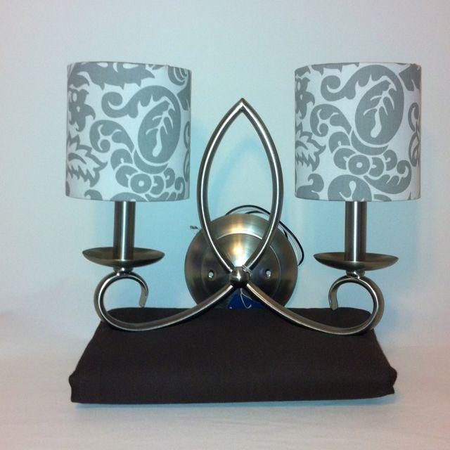 Sconce or chandelier shades http://elladeandesign.etsy.com | For ...