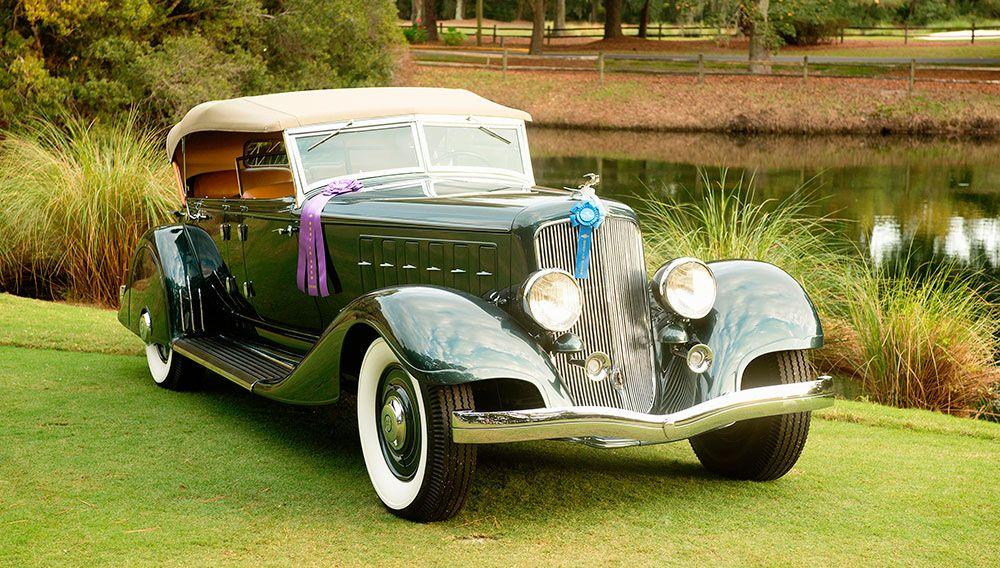 1933 Chrysler Custom Imperial Phaeton Classic sports