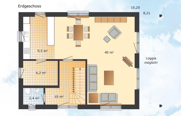 sonnholm h user und grundrisse fertighaus und energiesparhaus danhaus das 1 liter haus. Black Bedroom Furniture Sets. Home Design Ideas