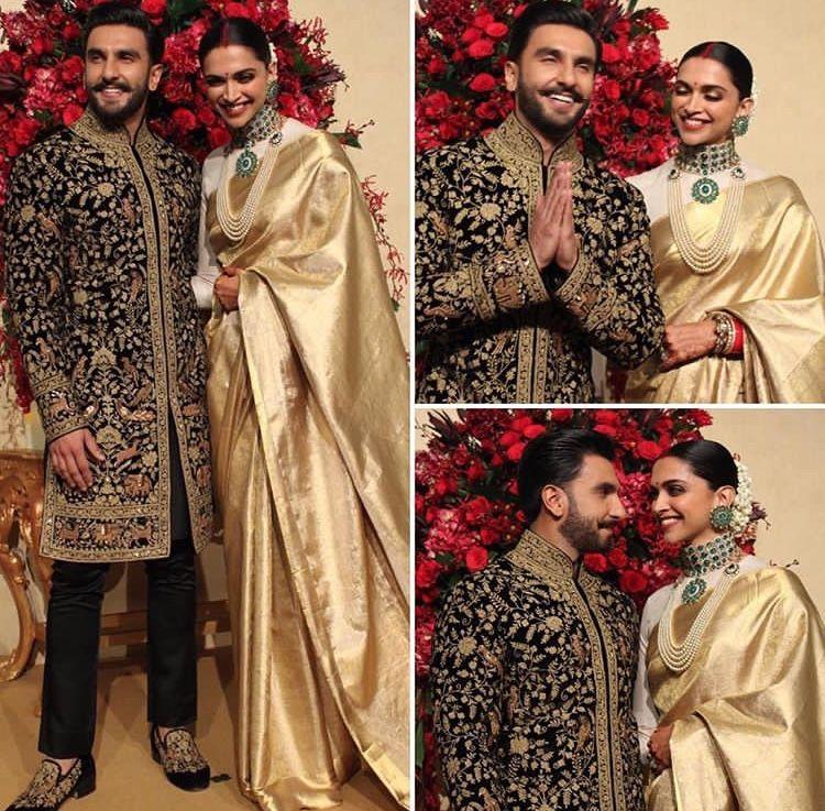 Deepika Padukone And Ranveer Singh Look Every Bit Royal As ...
