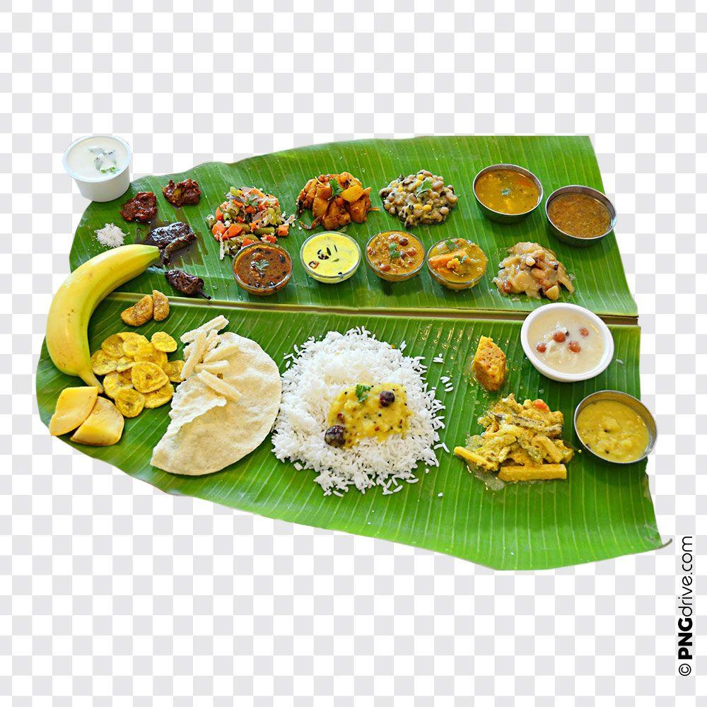 Sadhya Sadya Png Image Kerala S Traditional Vegetarian Feast Food Png Banana Leaf Sadya