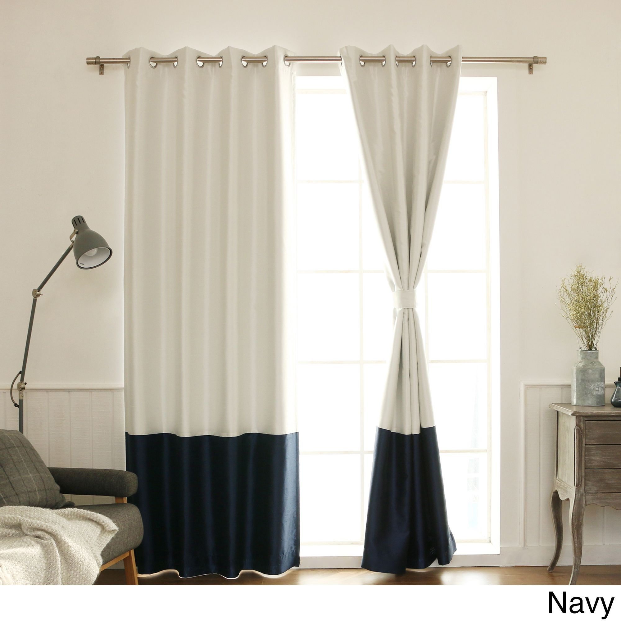 tan eclipse and curtain curtains of blackout benetta design indigo window blue navy