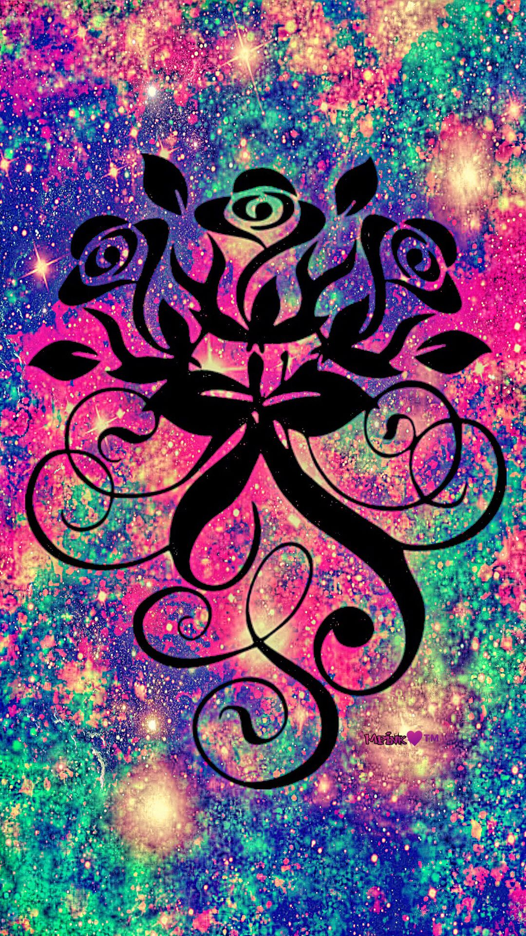 Beautiful Roses Galaxy Wallpaper By Artist Unknown Flowers