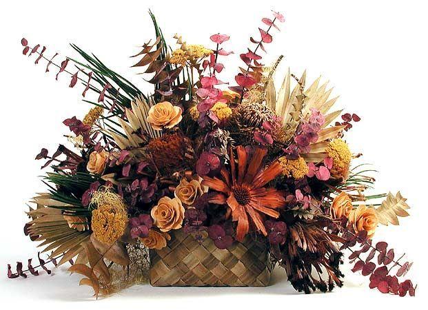 Resultado de imagen para arreglos florales con flores secas en - flores secas