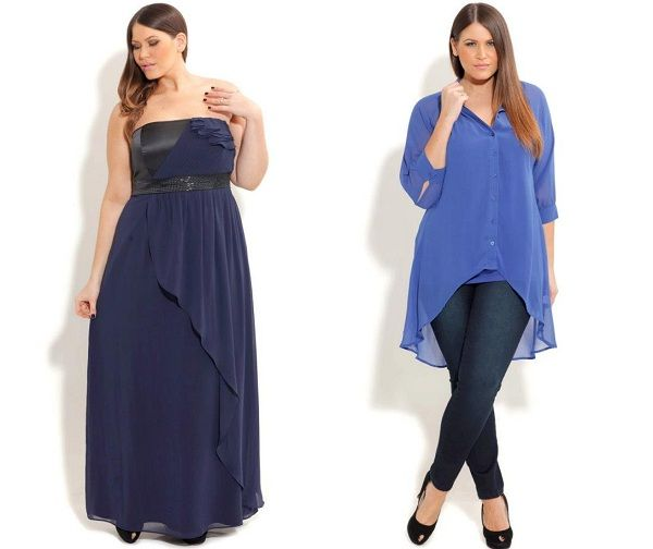 Dress designs for plus size women
