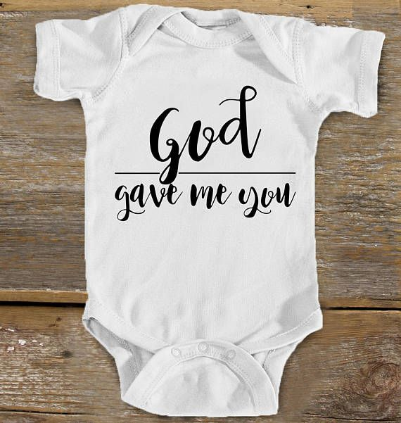 God Gave Me You Baby Bodysuit Music Baby Country Baby 1st Time Mom