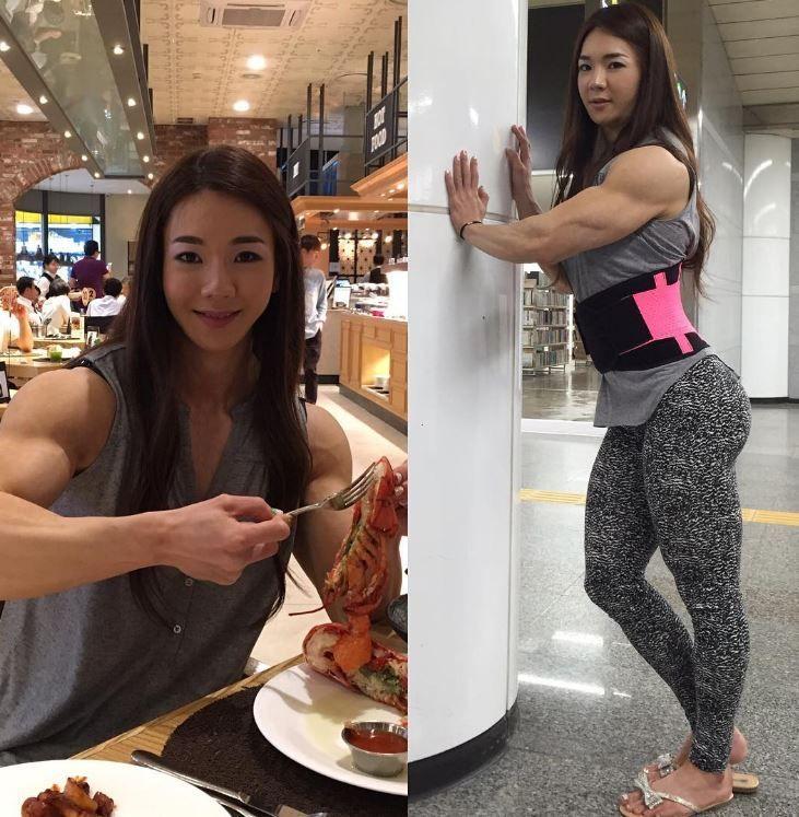 Yeon Woo Jhi Workout Pinterest Fitness modeling, Bodybuilder - fresh genetic blueprint band
