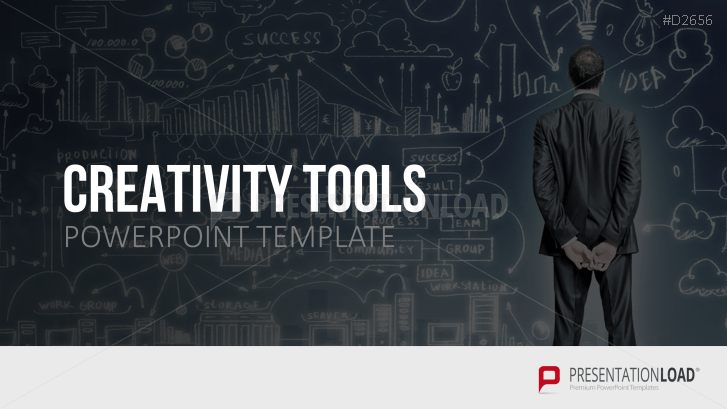 Creativity tools powerpoint template dibujos pinterest creativity tools powerpoint template toneelgroepblik Image collections