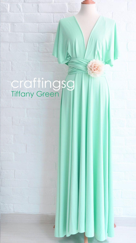 Bridesmaiddressinfinitydresstiffanygreenfloorbycraftingsg minty wintery bridesmaid bridesmaid dress infinity dress tiffany green by thepeppystudio ombrellifo Choice Image