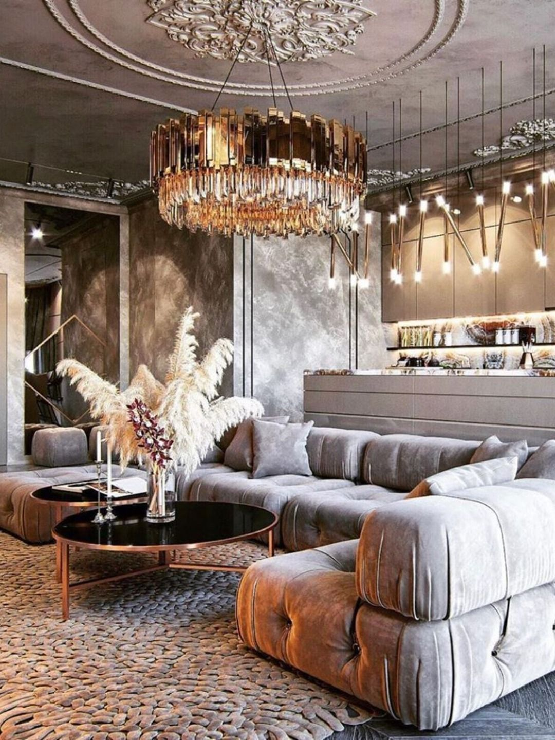A Luxury Residence Idealized For A Mega Art Collecting Couple Interior Design Trends Contemporary Interior Design Luxury Interior Design
