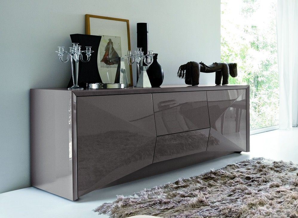 This Modern Buffet Is Sure To Add Style To Any Contemporary Dining Room Diningroom Buffet Furnit Modern Buffets And Sideboards Furniture Dining Room Buffet