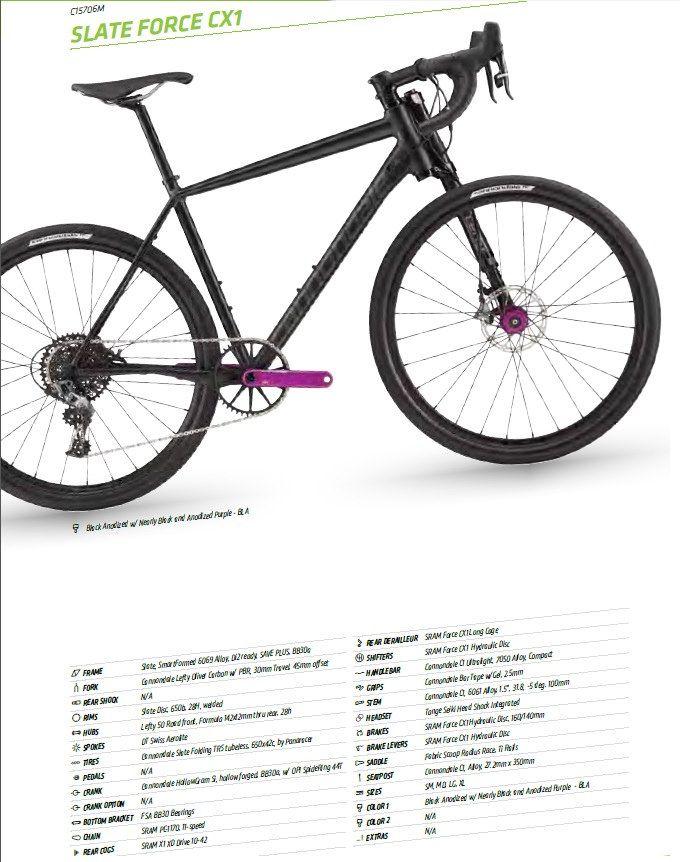 0a08d785a01 CANNONDALE SLATE FORCE CX1 | Triathlon/cycling/Crossfit ...