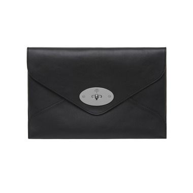 a5beb100cd53 coupon code for mulberry gift kaleidoscope black willow clutch in black  silky classic calf with nickel