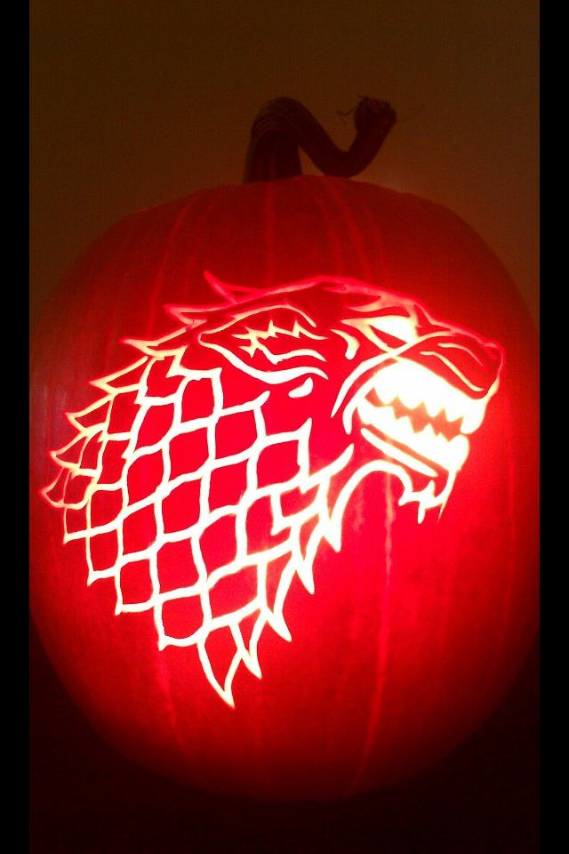 My game of thrones jack o lanterns pinterest